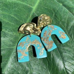 SALE❗️Polymer Clay Earring(Light Blue)